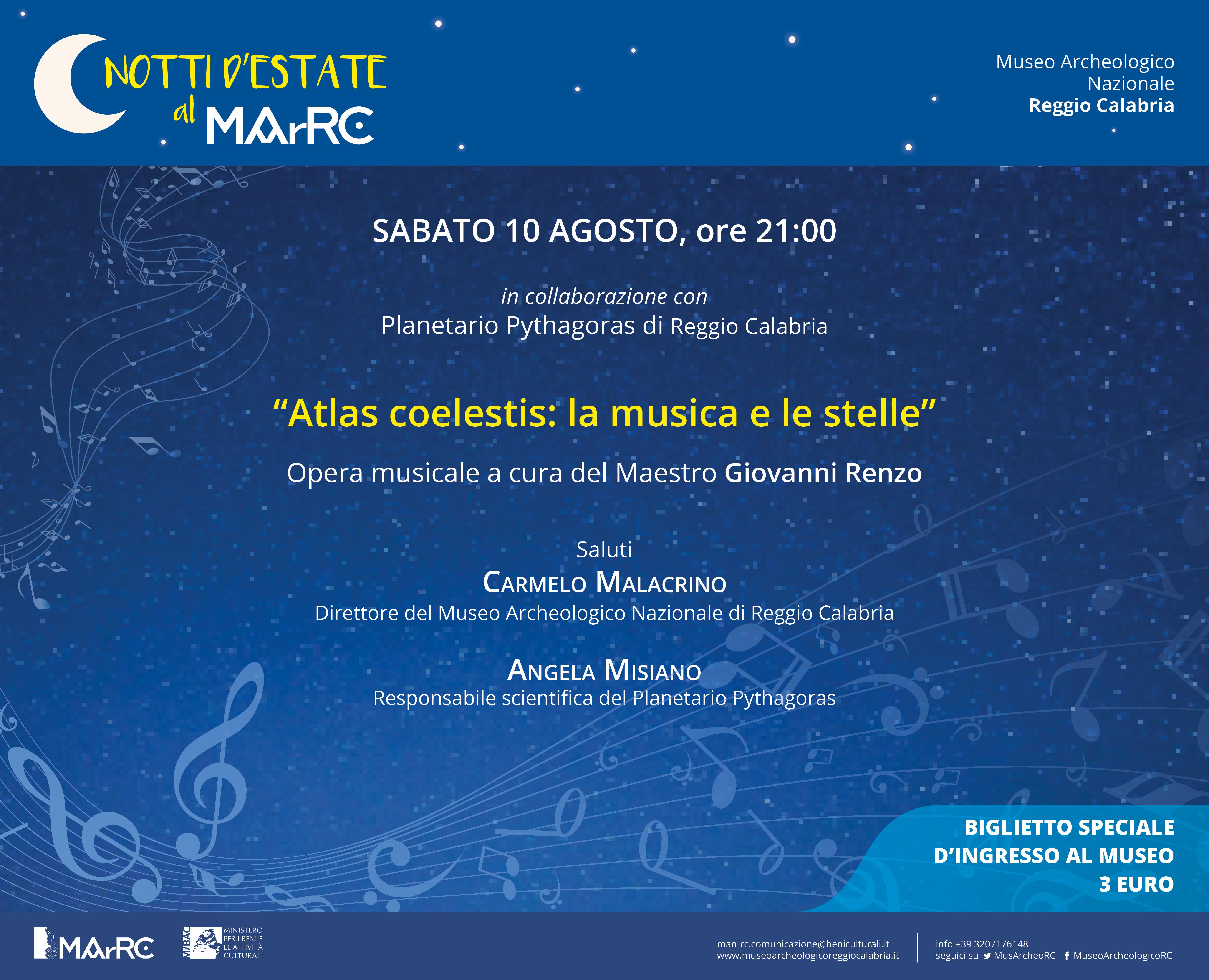 Calendario Concerti Calabria.Concerti Museo Archeologico Nazionale Di Reggio Calabria
